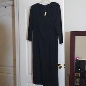 Talbot's Knee Length Black Dress